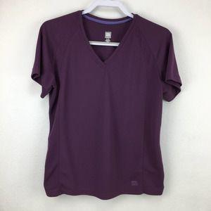 Moving Comfort XL (16) Purple Running Shirt WPL